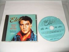Elvis Presley - From The Heart - 24 Tracks cd Ex Condition
