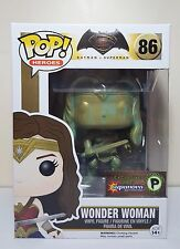 Funko Pop Wonder Woman Patina # 86 Batman VS Superman Supernova Exclusive New