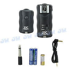 JJC Wireless Remote Control & Flash Trigger for Canon 430EX 580EX II 540EZ 520EZ