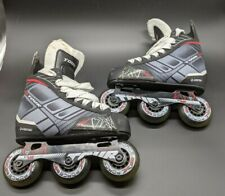 Tour Nano Code Technology FB-225 Inline Hockey Rollerblade Skates SIZE 13J