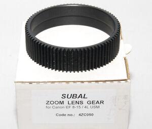 SUBAL 4ZC050 Gewindering Zoom Für Optik Canon 8/15 4 L USM