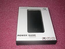 Que Design QUE-5000 Dual 2.4A USB Port 5000mAh Power Bank AC-DC input Black