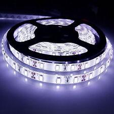 12V 5M 300Leds 5630 SMD Cool White Waterproof Led Strip Lights Lamp Ultra Bright