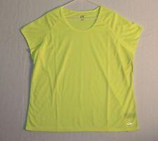 Champion Fitness Top Cap Sleeve Women's Plus Size 3X Color Light Yellow