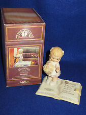 """MONDAY'S CHILD"" ENESCO MEMORIES OF YESTERDAY SPECIAL DAY LTD ED #531421 - MIB"