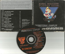 1995 PROMO CD LIVE TRX Rick Wakeman DEEP PURPLE Robin Trower THE FIXX UNRELEASE