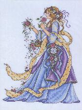 Cross Stitch Kit ~ Design Works Victotian Era Elegant Dress Rose Lady #DW2493