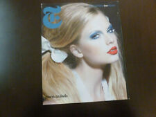 New York Times Style Magazine Taylor Swift 2009