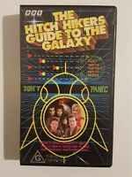 The Hitch Hikers Guide To The Galaxy Part 1 One - VHS PAL Video Tape BBC
