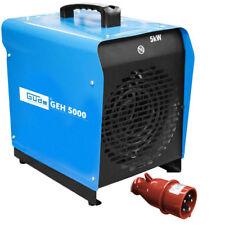 Güde Elektroheizer GEH 5000 Heizgebläse  mit 5000 Watt / 400 V / 3 Heizstufen
