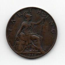 Great Britain - Engeland - 1 Farthing 1912