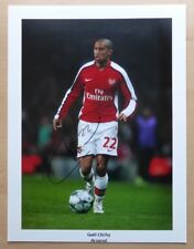 2009-10 Gael Clichy Signed Arsenal 16x12 Action Photograph (353)