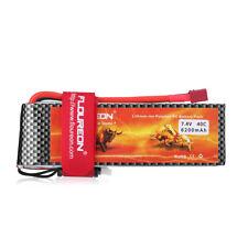 HIgh Capacity 2S 6200mAh 7.4V 40C T Plug LiPo RC Batterie für RC Auto LKW Drohne