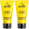 2 X Schwarzkopf Got2b Glued Spiking Glue 150ml