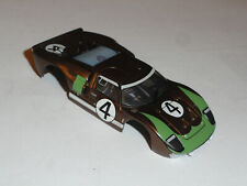 Tomy Aurora Afx Racemasters Ford Gt40 Ho Slot Car Nos Body For Mega G+ Chassis