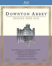 DOWNTON ABBEY DOWNTOWN ABBEY COMPLETE SEASON SERIES 1 - 6 blu ray Box Set RB