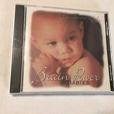 Power & Babies Classics For Kids Brain Mozart Shumann Williams New Sealed CD