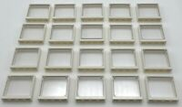 Lego 20 New Windows with Glass 1 x 4 x 3 White Window Panes Home City Pieces