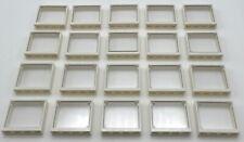 Lego 10 New White Door Frame 4 x 4 x 6 Corner NO GLASS Pieces