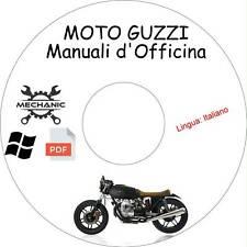 MOTO GUZZI - Guida Manuali d'Officina - Riparazione e Manutenzione!