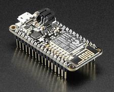 Adafruit Industries 3046 Mcu,Feather Huzzah Esp8266,80Mhz,3.3V,4Mb,Wi fi,Usb/Bat