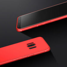 For Samsung S7 Shockproof Silicone Case Slim Cover Shell in Red