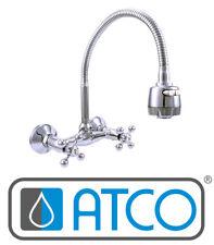 ATCO® Wandarmatur Spültischarmatur Küchenarmatur Mischbatterie Küche flexibel