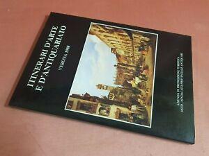 Marchini Gian Paolo ITINERARI D'ARTE E D'ANTIQUARIATO VERONA 1988