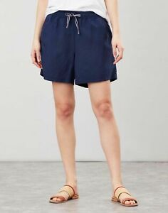 Joules Womens Clarina Casual Pull On Short - French Navy - 14