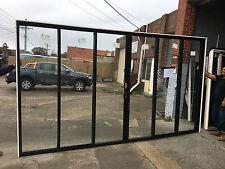 2400h x 4266w NEW Sliding Stacker Door 8 Colours FSSSSF DOUBLE Glazed