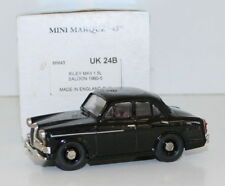 MINIMARQUE 1/43 UK24B - 1960 - 1965 RILEY MKII 1.5L SALOON - BLACK