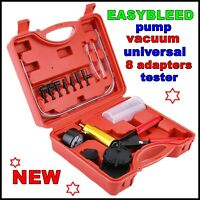 Brake Bleeding Kit Easy Bleed Diy One Person Operated Tool Dual Power Universal
