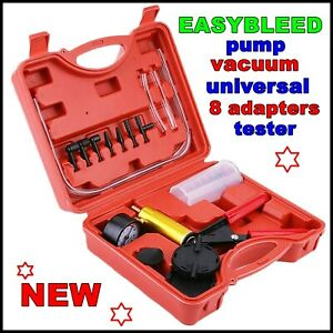Brake Bleeding Kit Easy Bleed Diy One Person Operated Tool Dual Power Universal