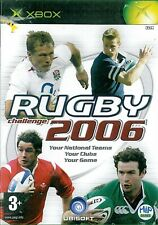 Rugby Challenge 2006 Microsoft Xbox 3+ Juego