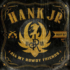 HANK WILLIAMS JR. - BEST OF: ALL MY ROWDY FRIENDS CD ~JUNIOR~GREATEST HITS *NEW*