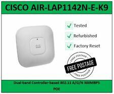 ** Cisco AIR-LAP1142N-E-K9 802 11n Wireless Dual Band Access Point POE **