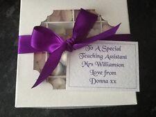 Selezione personalizzata & Mix SWEET BOX Natale Pasqua Compleanno Mamma Nan DAD insegnante