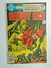 DC Special #26 Enemy Ace 3.0 water damage (1977)