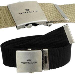 Tom Tailor, Belt, Belt, Ceinture, Cintura, Kemer, Riem, Пояс, Fabric Belt, New
