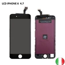 TOUCH SCREEN+LCD DISPLAY RETINA + FRAME PER APPLE IPHONE 6  6G  NERO