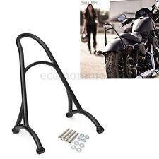 Dossier Arrière Sissy Bar Noir Pour Harley Sportster Iron Nightster 883 1200 XL