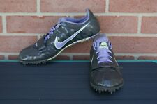 Nike Zoom Rival S Sprint 456811-053 Track Spikes Shoes Grey Lavender Women's 9.5