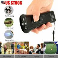 For Ultrasonic Stop Barking Away Anti Bark Control Dog Training Repeller Device