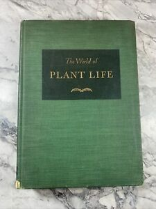 """1943 Antique Reference Book """"The World of Plant Life"""""""