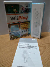 ** Wii Play with Bonus Wii Remote and Jacket