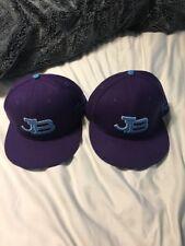 Concert JB Justin Bieber Hat Cap Bieber Fever Snapback Adjustable Purple