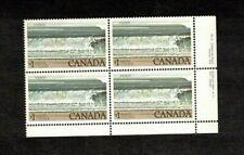 CANADA 1979  $1.00 FUNDY NAT PARK  BL/4 PLATE #2 cat $15. #726 MNH  BK 01b
