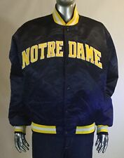 Vintage Starter Notre Dame Fighting Irish Satin Varsity Size L (fits S) Jacket