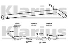 Exhaust Pipe CENTRE for SEAT IBIZA 1.9 04-06 TDI ATD 6L Diesel Hatchback 100bhp
