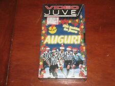 VIDEO JUVE AUGURI DA TUTTA LA JUVE // LOGOS TV 1999  VHS NEW